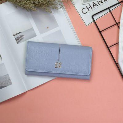 Dompet Panjang Simple Termurah Biru