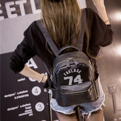 Grosir Backpack Hitam Favlase