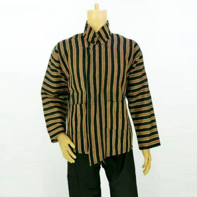 Grosir Baju Surjan Lurik Solo Jumbo
