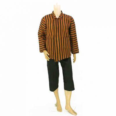Grosir Baju Surjan Ukur XXL dan Celana Pendek