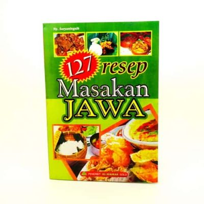 Grosir Buku 127 Resep Masakan Jawa