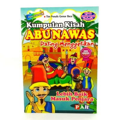 Grosir Buku Dongeng Kisah Abunawas