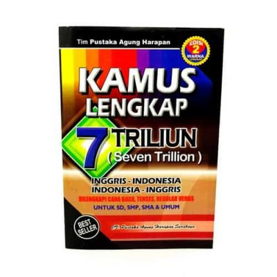 Grosir Buku Kamus Bahasa Inggris – Indonesia Tujuh Triliun