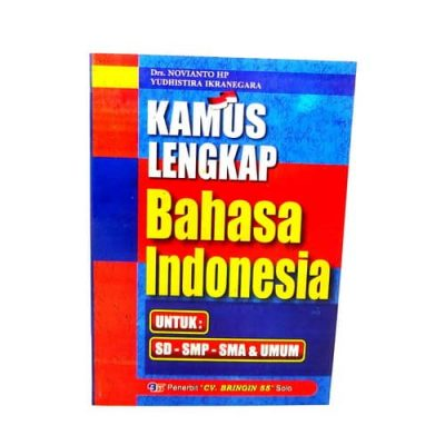 Grosir Buku Kamus Lengkap Bahasa Indonesia
