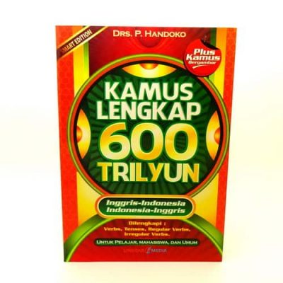 Grosir Buku Kamus Lengkap Inggris Indonesia 600 Trilyun