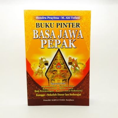 Grosir Buku Pintar Bahasa Jawa Lengkap