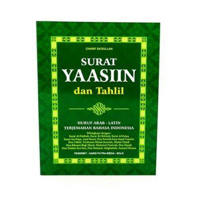 Buku Surat Yaasiin dan Tahlil Huruf Arab Latin