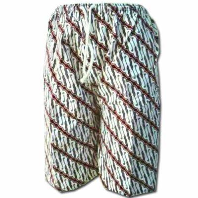 Grosir Celana Kolor Pendek Kain Batik