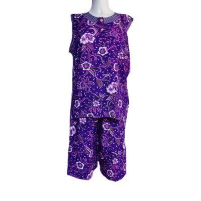 Grosir Daster Baby Doll Tanpa Lengan Lavender
