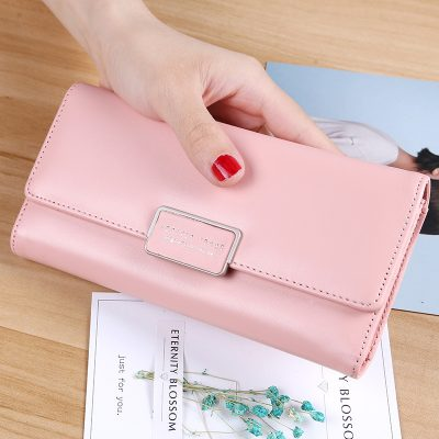Grosir Dompet Lipat Panjang Pink