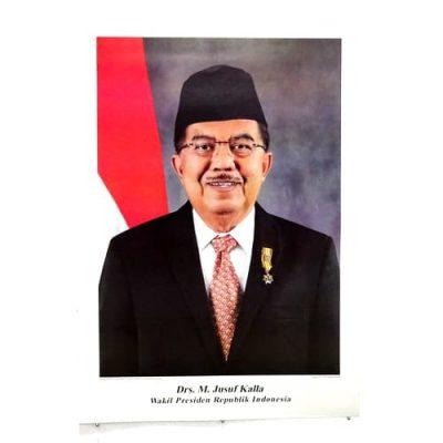 Grosir Poster Besar Wakil Presiden Drs. H. M. Jusuf Kalla