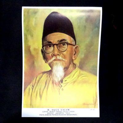 Grosir Poster Dinding Agus Salim