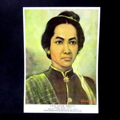 Grosir Poster Dinding Cut Nyak Dhien