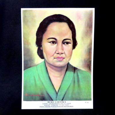 Grosir Poster Dinding Dewi Sartika