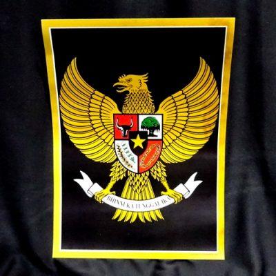 Grosir Poster Dinding Garuda Pancasila Kecil