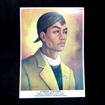 Grosir Poster Dinding Jendral Sudirman