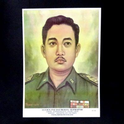 Grosir Poster Dinding Letnan Jenderal TNI Anumerta R. Suprapto