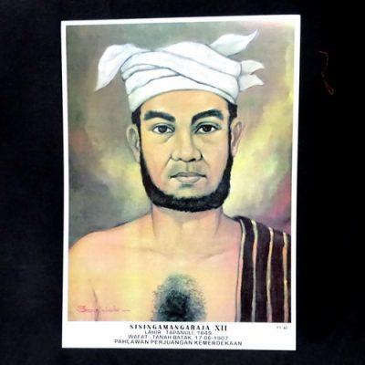 Grosir Poster Dinding Sisingamangaraja XII