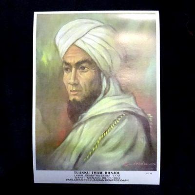 Grosir Poster Dinding Tuanku Imam Bonjol
