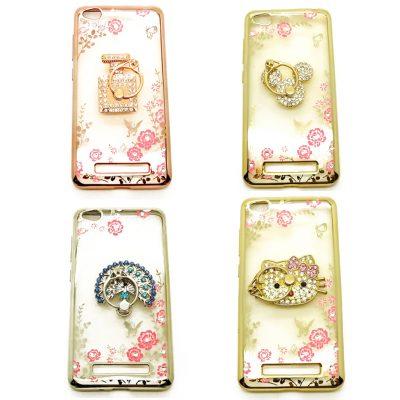 Grosir Soft Case Shining Flower Ring Redmi 4a