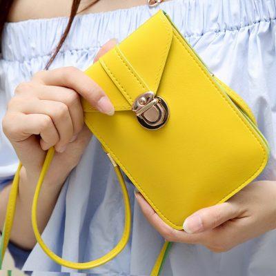 Mini Sling Bag Kuning Termurah