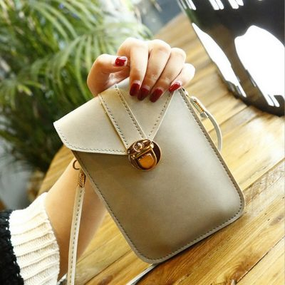 Mini Sling Bag Murah Khaki