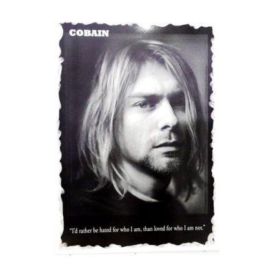 Poster Kurt Cobain Nirvana