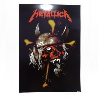 Poster Metallica Tengkorak Jumbo
