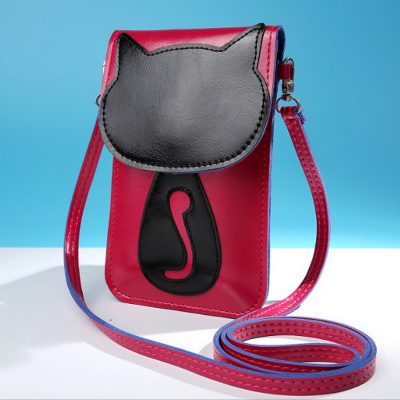 Sling Bag HP Mini Bahan Kulit