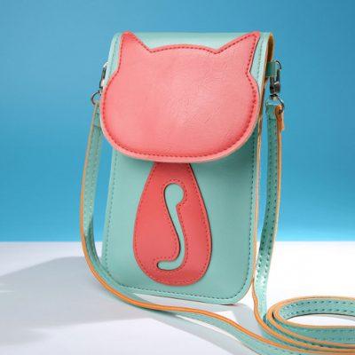 Tas Sling Bag Kucing Lucu