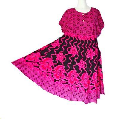 Daster Payung Kencana Ayu Warna Pink