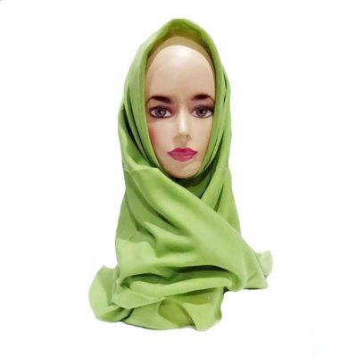 Hijab Saudia Rawis Warna Hijau Alpukat