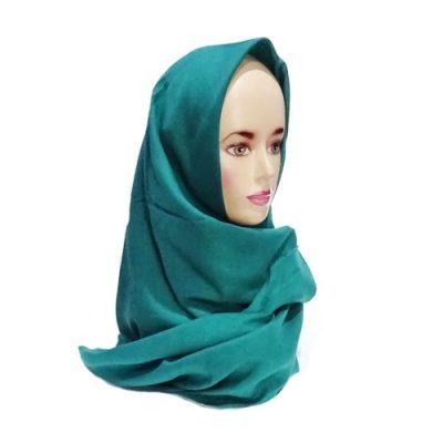 Hijab Saudia Rawis Warna Hijau Tosca