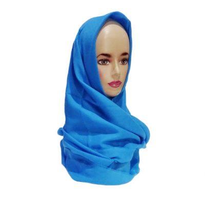 Hijab Saudia Rawis Warna Biru Langit