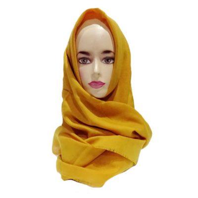 Hijab Saudia Rawis Warna Kunyit