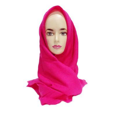 Hijab Saudia Rawis Warna Merah Fanta