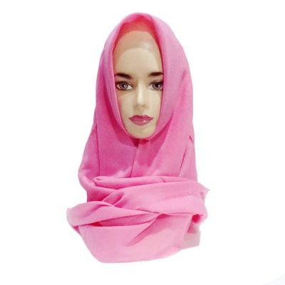 Hijab Ansania Rawis Murah Warna Pink