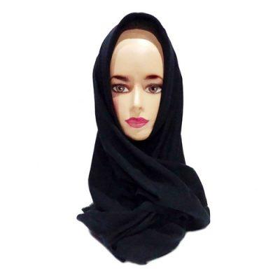 Hijab Saudia Ansania Rawis Warna Hitam