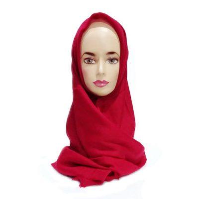 Hijab Saudia Ansania Rawis Warna Merah