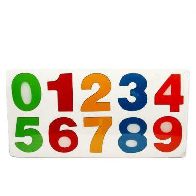 Mainan Edukasi Puzzle Angka Datar