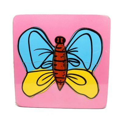 Mainan Edukasi Puzzle Metamorfosis Kupu-Kupu