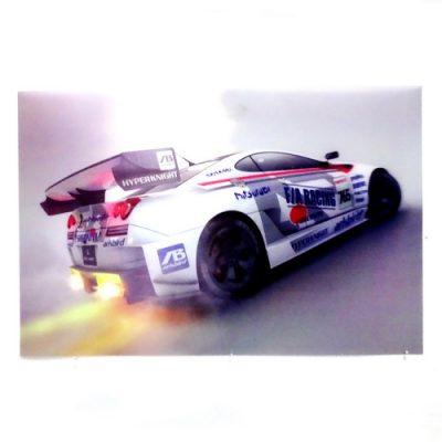 Poster 3D Racing Car