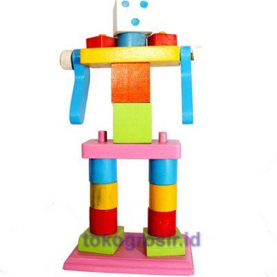 Mainan Edukasi Robot