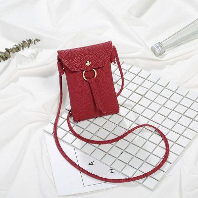 Sling Bag Mini Ring Simpul Merah