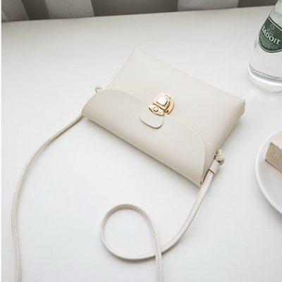Tas Wanita Mini Warna Putih