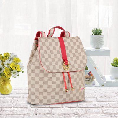 Tas Wanita Quinta Neda Backpack Cream