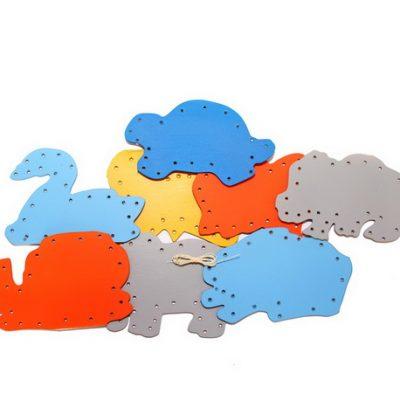 Mainan Anak Edukasi Menjahit Hewan