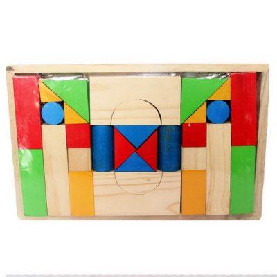 Mainan Anak EdukasiCity Blok isi 30