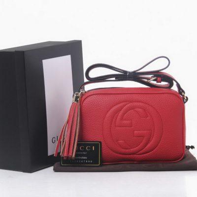 Tas Branded Wanita Warna Merah Kode T951