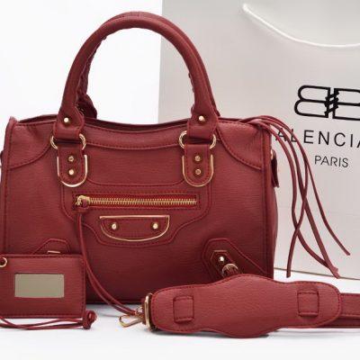 Tas Wanita Branded Warna Merah Kode T958